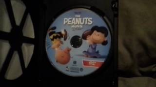 The Peanuts Movie DVD Unboxing