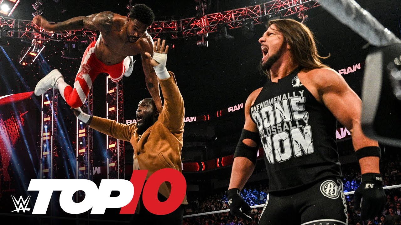 Download Top 10 Raw moments: WWE Top 10, Oct. 18, 2021