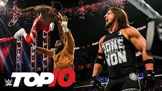 Top 10 Raw moments: ẄWE Top 10, Oct. 18, 2021