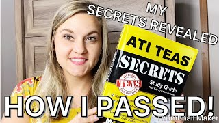 2019 TEAS 6 TEST| STUDY SECRETS FOR AN ADVANCED SCORE| TIPS & TRICKS I USED!