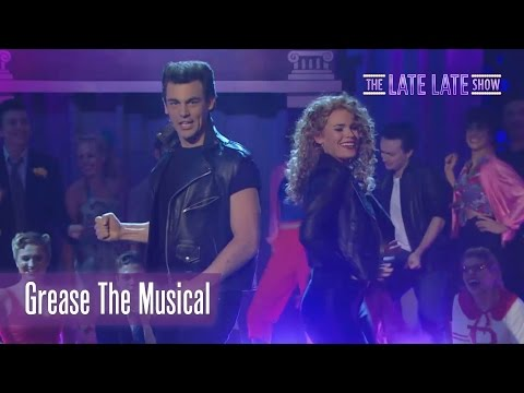 Grease The Musical performace | The Late Late Show