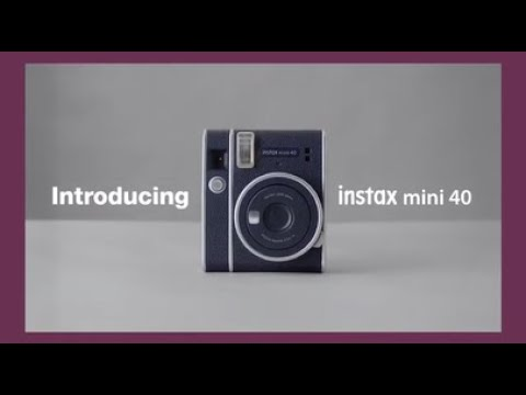 instax mini 40 Tutorial Movie/ FUJIFILM