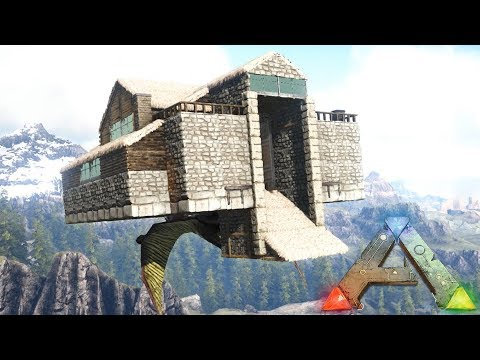 ARK: Quetzal Platform Base - The Flying House (Speed Build)