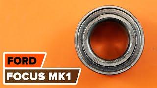 Substituição Kit rolamento roda FORD FOCUS: manual técnico
