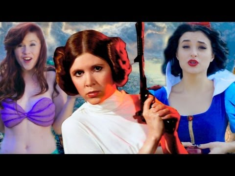 Disney Princess Leia - Star Wars Disney Princesses!