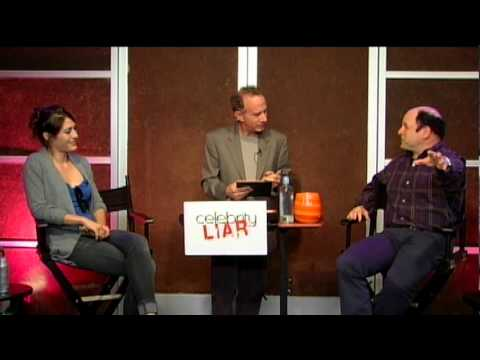 Celebrity Liar  Jason Alexander VS Lizzy Caplan