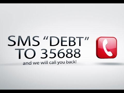 "Help with Debt in Johannesburg - SMS ""DEBT"" to 35688 Today and we will call you back"