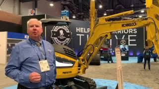 Video still for Kobelco's SK 35 - 3.5-ton, Mini-Excavator