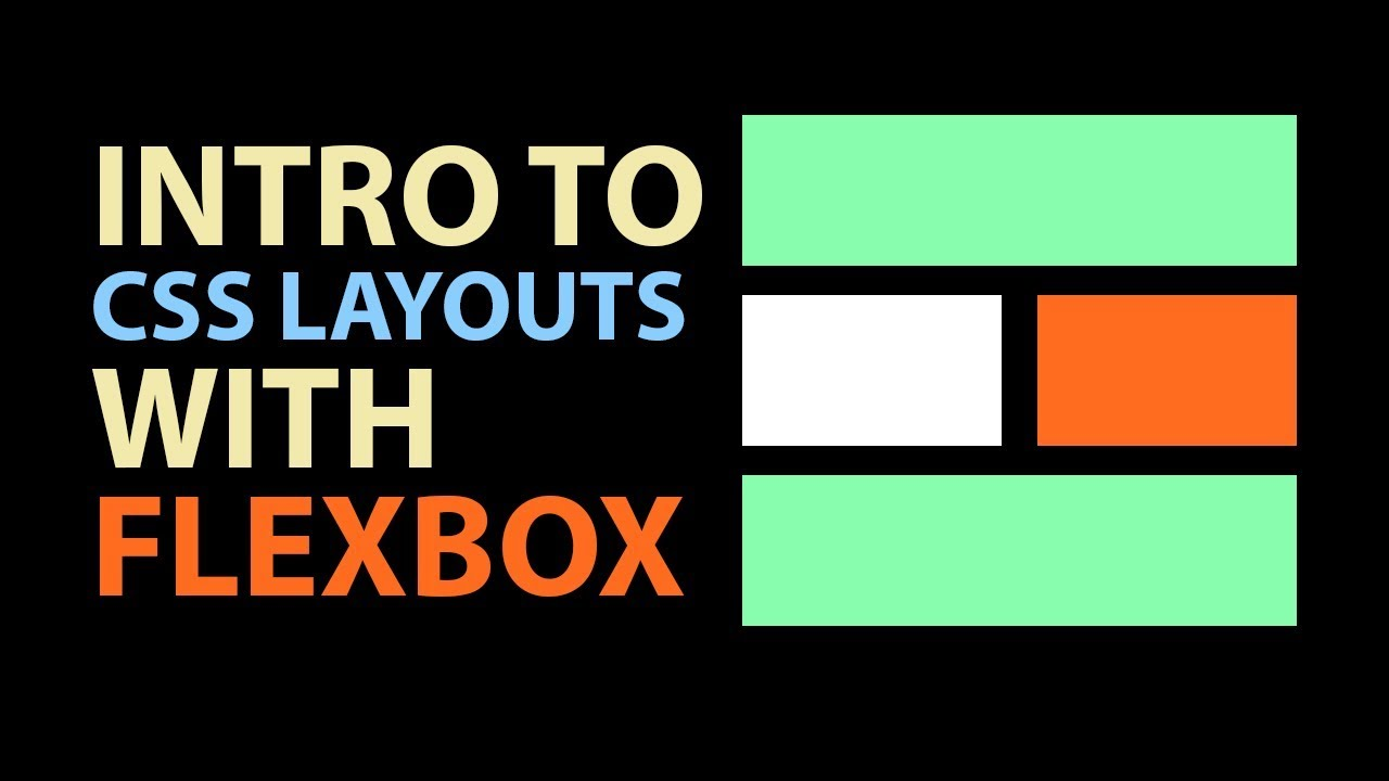 Build an HTML + CSS Layout with Flexbox in just a few lines of code