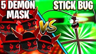 5 DEMON MASKS Vs Stick Bug In Roblox Bee Swarm Simulator 5 DEMON MASKS Vs Stick Bug In Roblox Bee Swarm Simulator 5 DEMON MASKS Vs Stick Bug In Roblox Bee Swarm Simulator 5 DE
