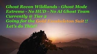 Ghost Mode | Extreme | No HUD | No AI Ghost Team | Currently at Tier 2 - Let's do This!!