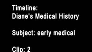 Timeline: medical history, subject : early medical clip: 1-2
