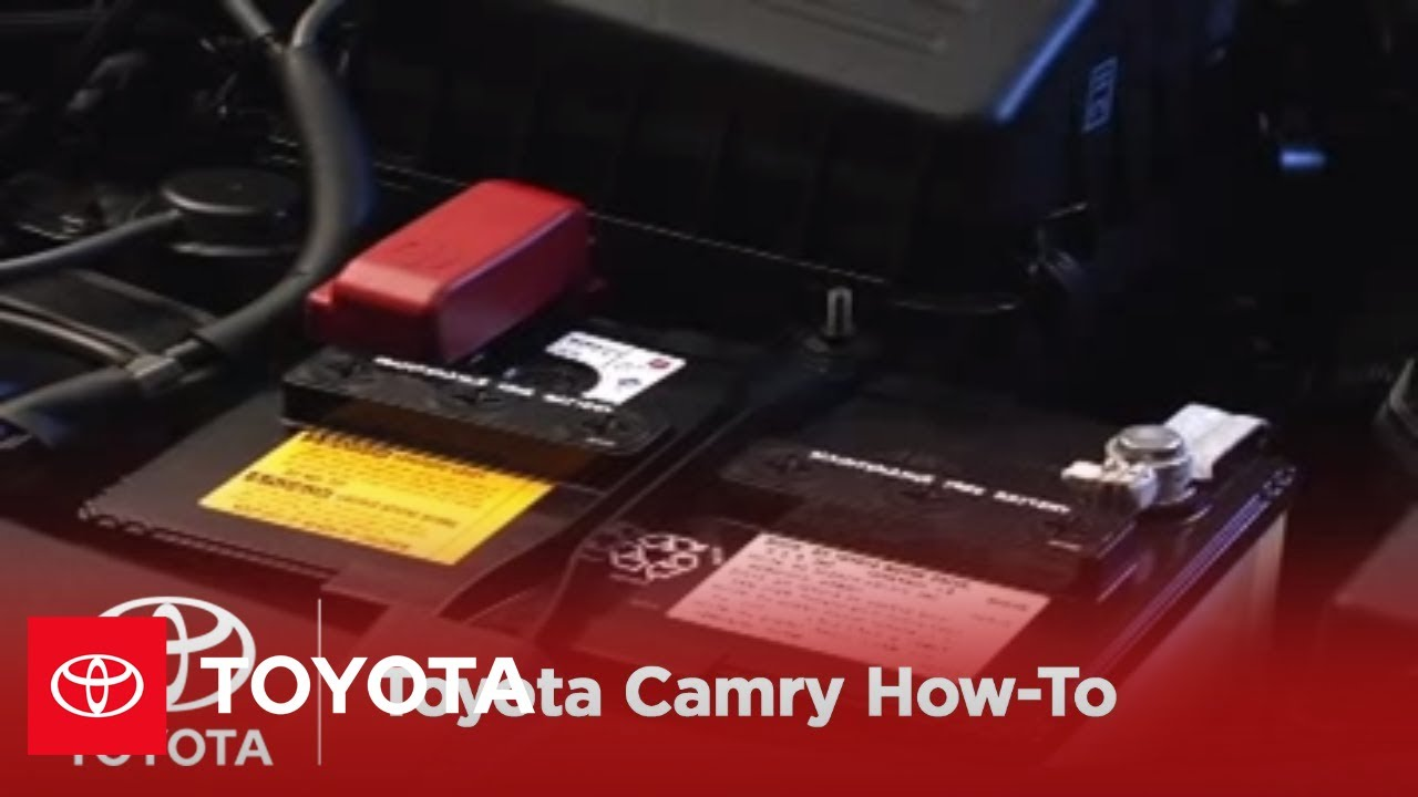 2007 2009 camry how to theft deterrent system triggering the alarm toyota [ 1280 x 720 Pixel ]