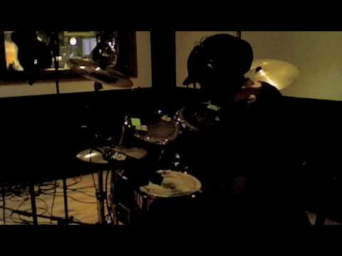 recording drums for Offshore