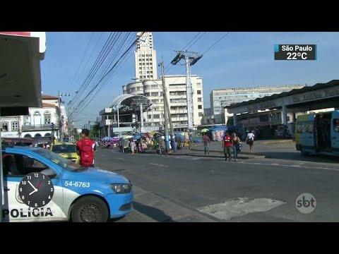 Duas pessoas morreram e seis ficaram feridas em tiroteio no Rio | SBT Brasil (02/06/18)