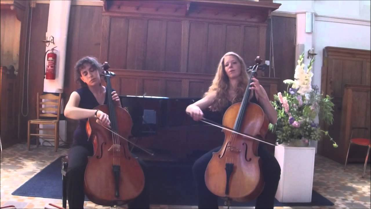 Geminiani - Cello Sonata no. 6 Zenith Cello Duo