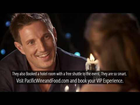 Be Smart Like Brittany and Blake - Pacific Wine & Food Classic