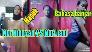 Nurul Hidayah VS Nurliani yg sangat VIRAL   React Bahasa Banjar !!! nurul hidayah viral 2020