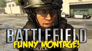 Battlefield Hardline Funny Montage! Donut Easter Egg, Tazer Trolls, Epic C4 Heli (BFH Funny Moments)