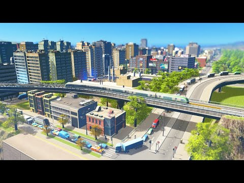 Completing the MEGA CITY in Cities: Skylines Sunset Harbor | Building A Beautiful City