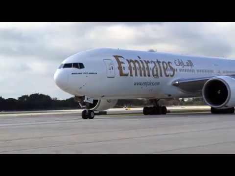 Hello Fort Lauderdale | Inaugural flight | Emirates