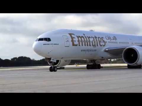 Fort Lauderdale | Inaugural flight | Emirates