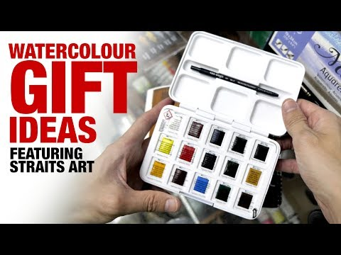 Watercolour Gift Ideas (Shopping at Straits Art)