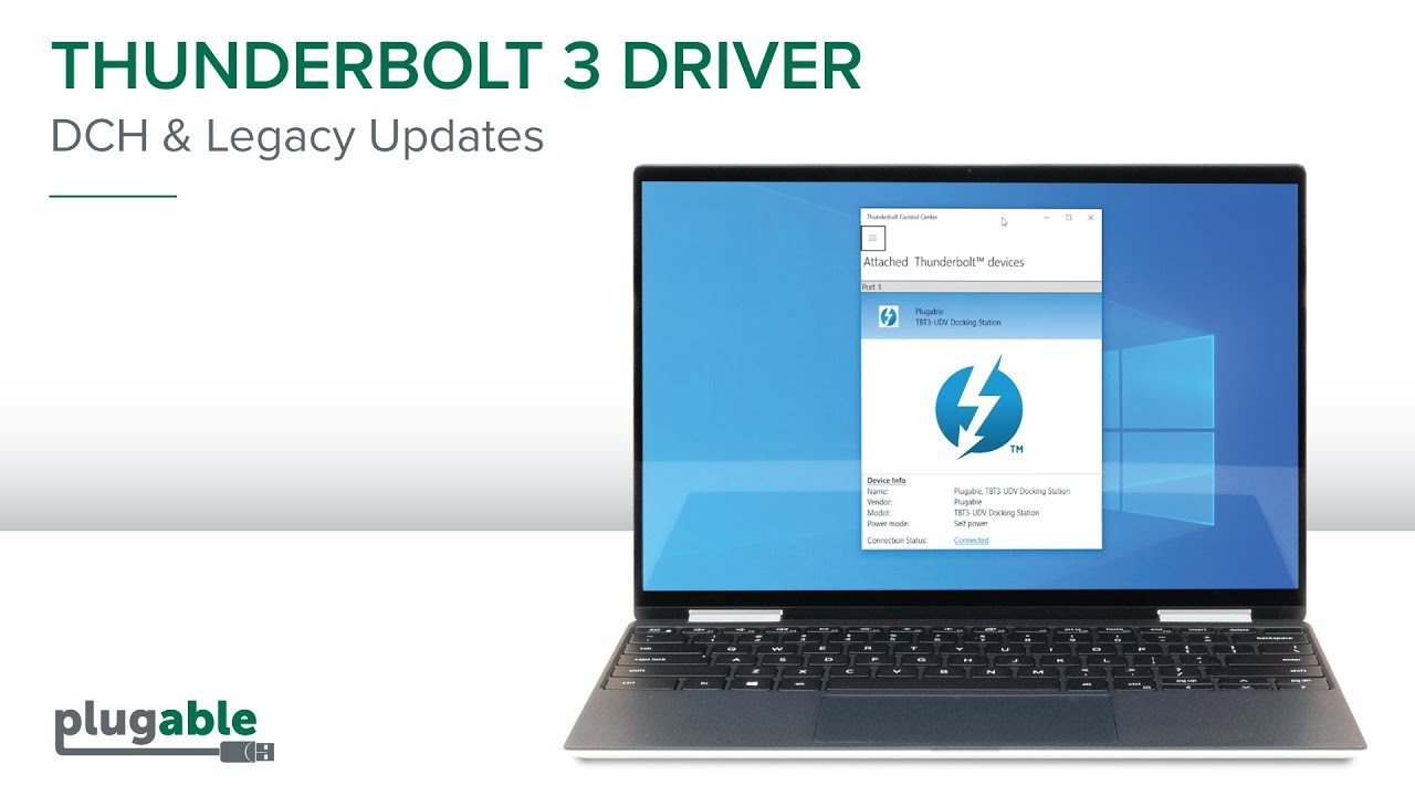 Thunderbolt 3 DCH and Legacy Driver - YouTube