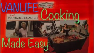 Easy Cooking on the Road - RoadPro Portable Roaster - VANLIFE - Van Life