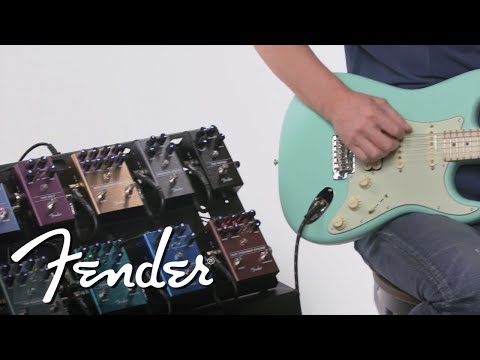 Exploring Fender&39;s Newest Effects Pedals  Effects Pedals  Fender