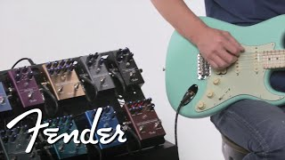 Exploring Fender's Newest Effects Pedals | Effects Pedals | Fender