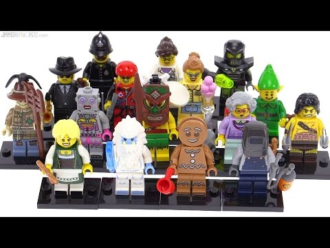 LEGO Series 11 Collectible Minifigures from 2013!