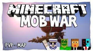 Download Video Minecraft • Mob War [PVP-Map] • #01 [Deutsch   HD] - mit Chaosflo44, Cube_0815 und St33l! :) MP3 3GP MP4