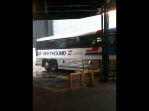 MCI MC-12 @ The Birmingham, Alabama Greyhound Bus Terminal.