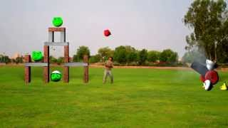 Repeat youtube video Real Angry Birds with Cannon