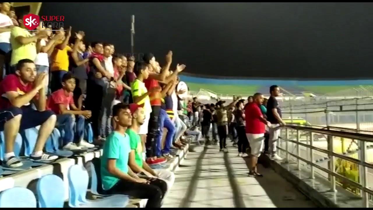 اليوم السابع :احتفالات جماهير بيراميدز بالتعادل مع شباب بلوزداد