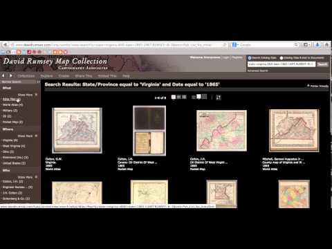 David Rumsey Map Collection Tour
