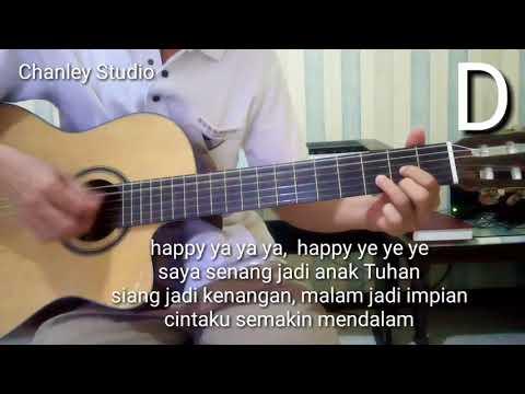 Belajar Gitar - Happy Ya Ya Ya