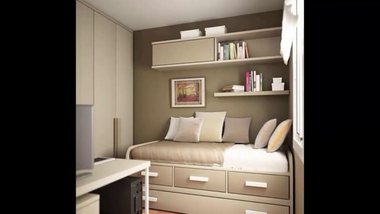 Dormitorio peque o de dise o de interiores youtube - Diseno de interiores dormitorios pequenos ...