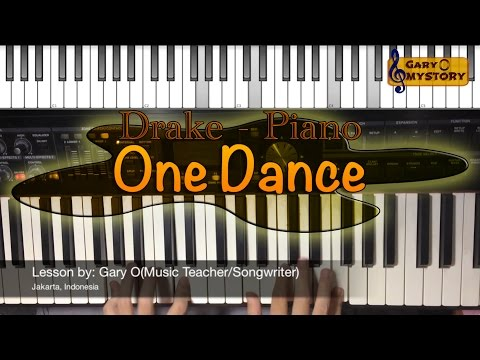 Drake Ft. Wizkid & Kyla - One Dance Song Cover Easy Piano Tutorial/Keyboard Lesson FREE Sheet NEW