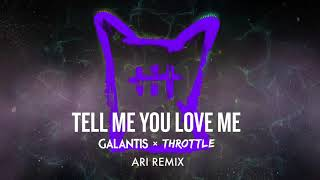 Galantis And Throttle  Tell Me You Love... @ www.OfficialVideos.Net