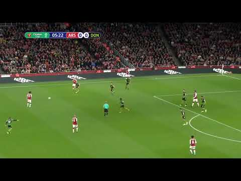 Arsenal vs Doncaster 1-0 Theo Walcott goal English Carabao cup 20/9/2017