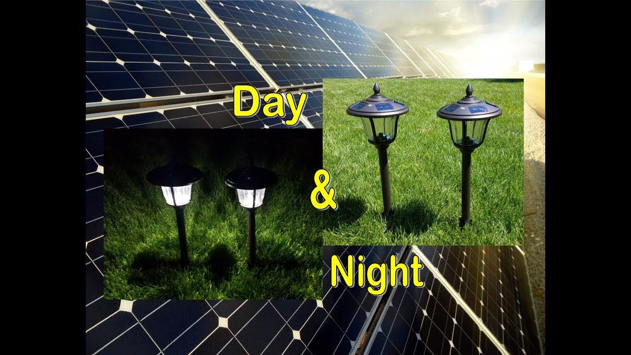 of watch path led set pathway lights solar lighting youtube