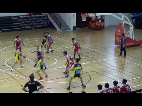 2016-17 U19 Boys Basketball AMIS vs. CIS (1st Half)