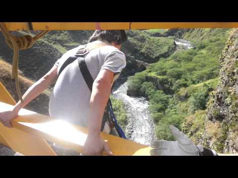 bungee jumping puente de Juanambu, Buesaco-Nariño-Colombia