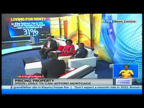 """Many Kenyans are now """"Living for Rent"""" Discussion by John Allan Namu and Yvon Okwara"""