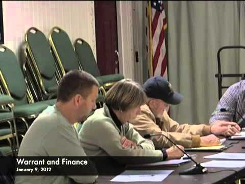 Warrant and Finance - 01-09-2012