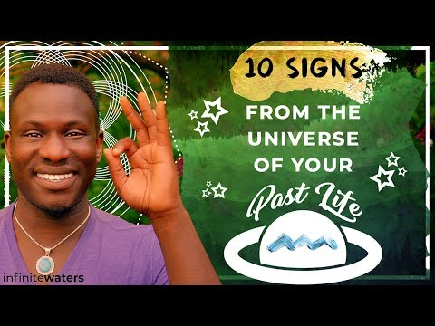 10 Signs from the Universe of Your Past Life (The Secret No One Tells You)