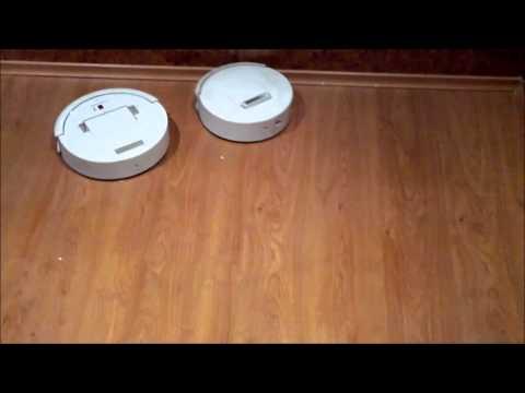 Самодельный робот-пылесос v.