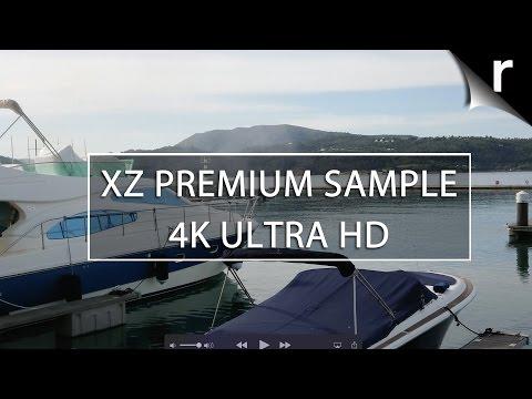 Sony Xperia XZ Premium camera 4K video sample